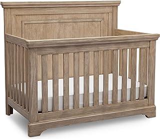 Simmons Kids SlumberTime Paloma 4-in-1 Convertible Baby Crib, Rustic Driftwood