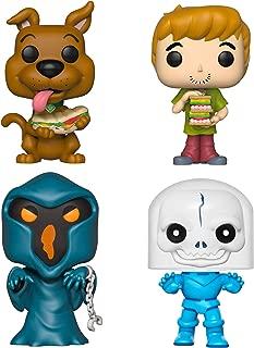 Funko Animation: Pop! Scooby Doo Collectors Set - Scooby Doo with Sandwich, Shaggy with Sandwich, Phantom Shadow, Spooky Space Kook