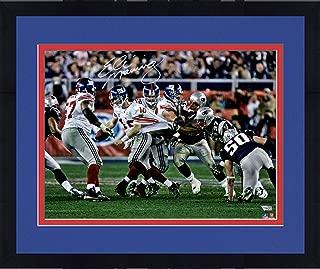 Framed Eli Manning New York Giants Autographed 16