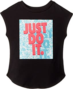 JDI Pool Modern Short Sleeve Tee (Little Kids)