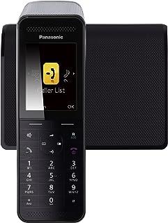 Panasonic KX-PRW110 - Teléfono Inalámbrico Digital Premium (LCD Color, Agenda de 300 números, Bloqueo de Llamadas, Modo Eco Plus, Modo No Molestar), Color Negro