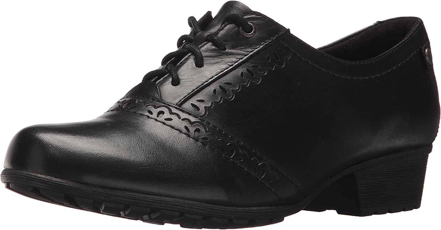 Rockport Women's Cobb Hill Gratasha Oxford in Black (Wide)