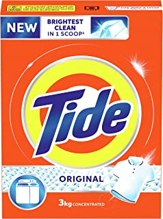 Tide Original Scent Detergent Powder - Top load 3 kg