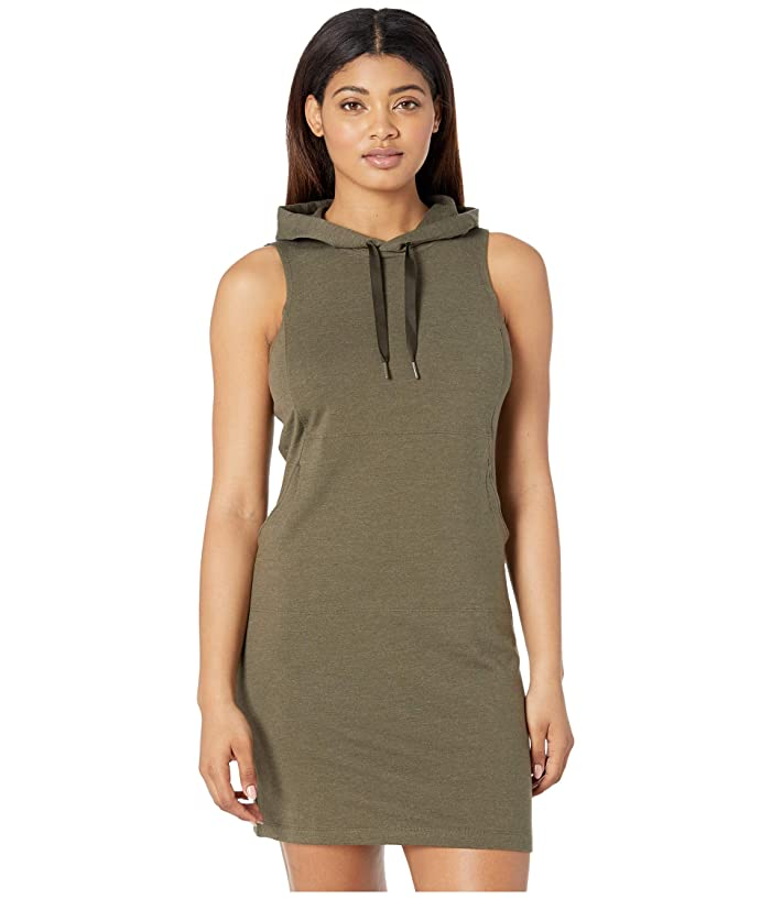 The North Face Bayocean Sleeveless Hooded Dress (New Taupe Green Heather) Women