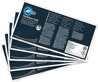 AF International CCC100 Lot de 100 Cartes de nettoyage pour Têtes magnétiques