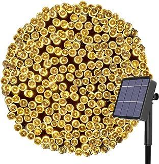 Solar Fairy Lights Outdoor, Kolpop 24M/79ft 240 LED Solar Powered Garden Lights Outside 8 Modes Waterproof Solar String Li...