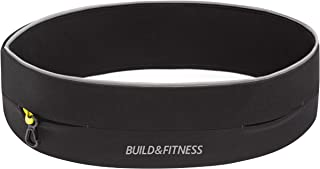 Running Belt, Fitness Belt, Flip Waist Belt with Key Clip, Fits All Phone Sizes. Unisex. for Gym Workouts, Exercise, Cycli...