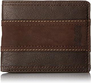 リーバイス 男性用 旅行用財布 スエードのストライプ入り