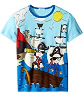 Dolce & Gabbana Kids - Mare Sicily Pirate T-Shirt (Big Kids)