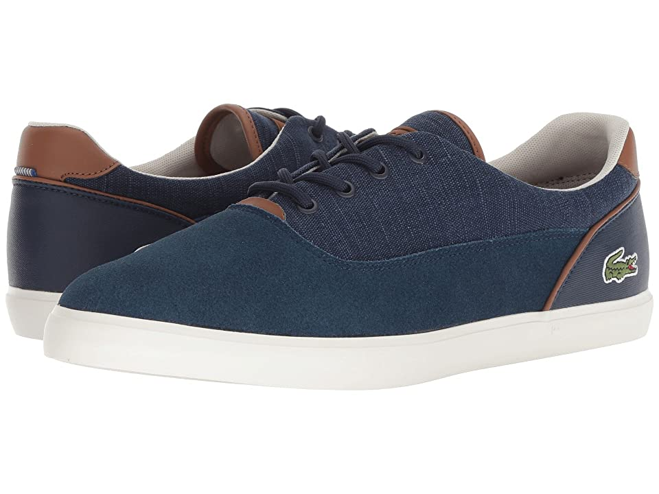 Lacoste Jouer 318 1 (Navy/Tan) Men