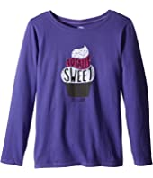 Life is Good Kids - Sweet Cupcake Long Sleeve Tee (Little Kids/Big Kids)