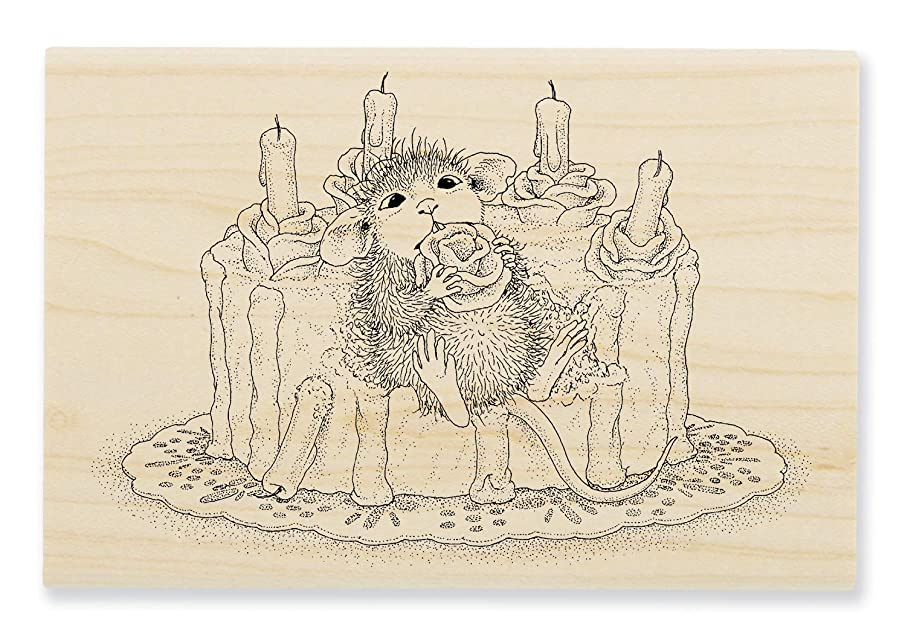 Stampendous HMP109 House Mouse Icing Roses, Stamp