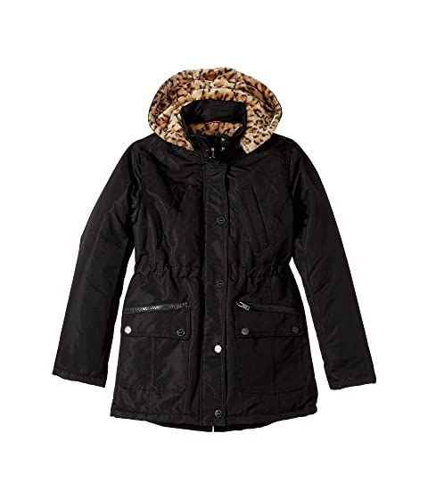 28feda941820 Urban Republic Kids Ballistic Anorak with Faux Fur Lining (Little ...