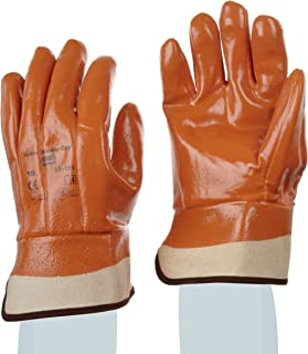 Ansell Winter Monkey Grip 23-193 Vinyl Glove, Fully Coated on Jersey Liner, X-Large (Pack of 12 Pairs)