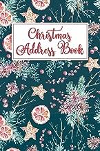 Christmas Address Book: Holiday Card List Book & Organizer (Greeting Card Organizers)