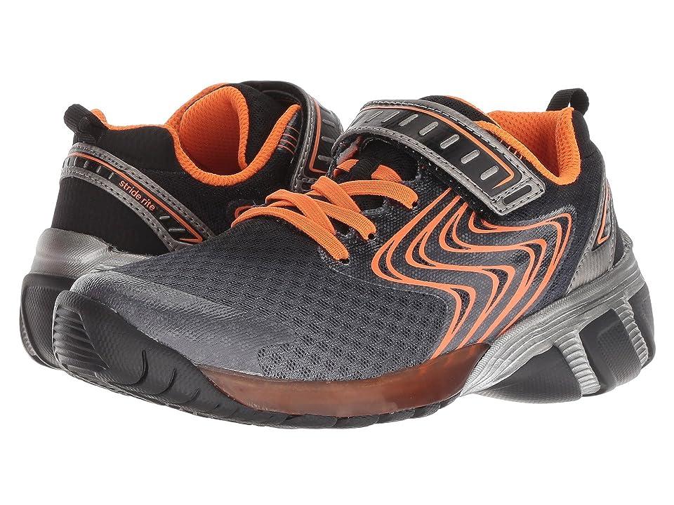 Stride Rite SR-Lights Lux (Toddler/Little Kid) (Grey/Orange) Boys Shoes