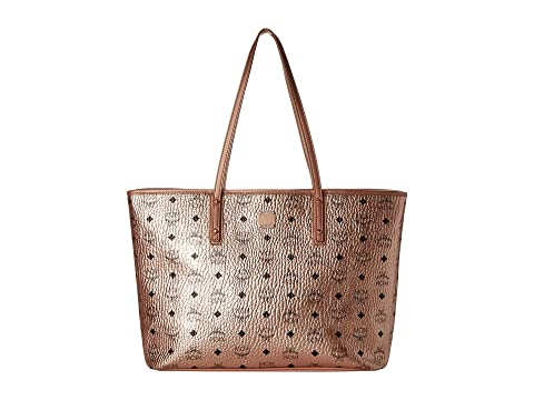 MCM Anya Shopper Top Zip Shopper Medium