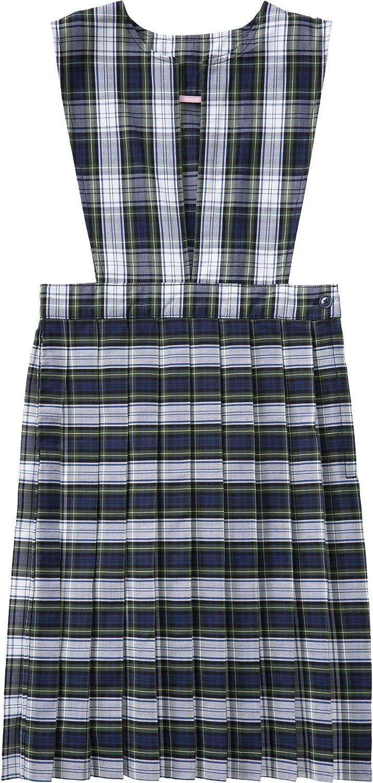 Classroom School Uniform Slit Front Girls Plus Dress 5PC4723A, 7h, Navy