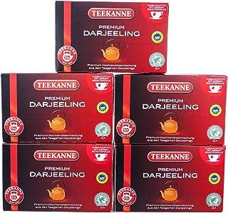 Teekanne Premium Darjeeling 20 Beutel, 5er Pack 5 x 35 g Packung