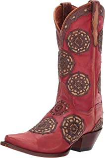 Women's Circus Flower Leather Boot