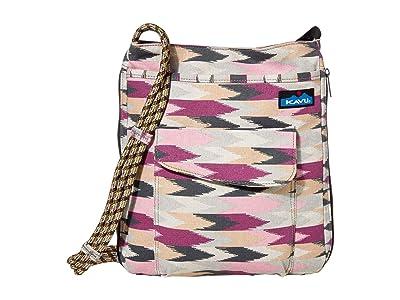 KAVU Sidewinder (Berry Palette) Cross Body Handbags
