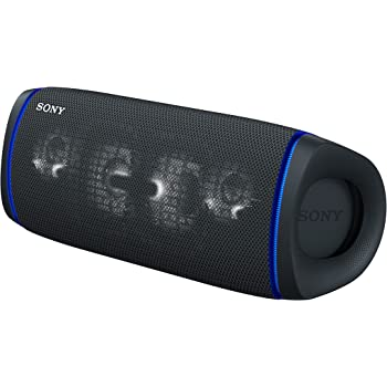 Sony SRS-XB43 EXTRA BASS Wireless Portable Speaker IP67 Waterproof BLUETOOTH and Built In Mic for Phone Calls, Black