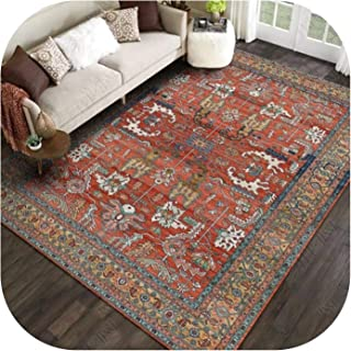 Beautiful-clouds Carpets Geometric Colorful Pattern Living Room Rug and Carpets Pastoral Home Decoration Bedroom Carpet Nordic Ethnic Floor,9,Customize Contact Me