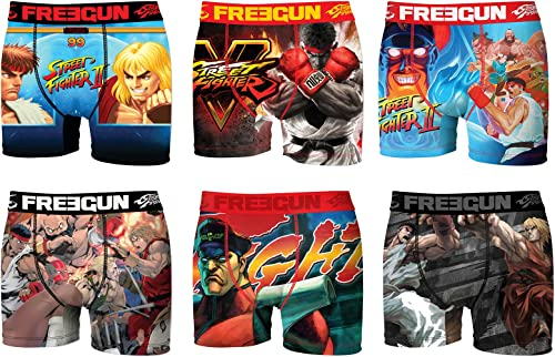 Libregun. Boxer Homme rue Fighter -AssortiHommest modèles Photos Selon arrivages-
