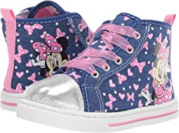 Minnie Sheer Lace Sneaker (Toddler/Little Kid)