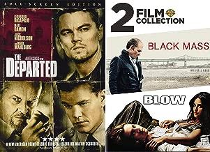Whitey Bulger = Frank Costello Boston Underworld Double Feature: The Departed & Black Mass/ Blow 3-DVD Bundle