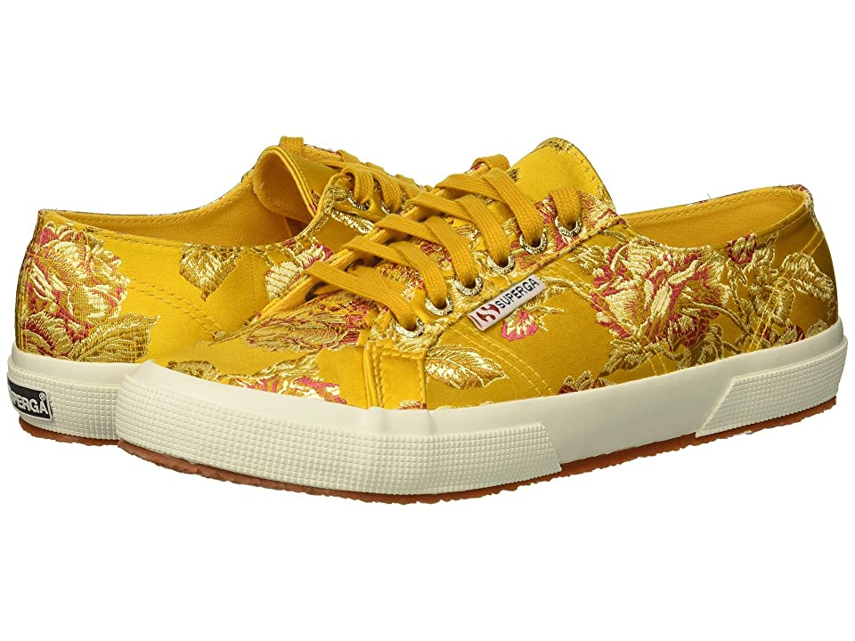 Superga 2750 Satinjaquardw (Canary Yellow) Women