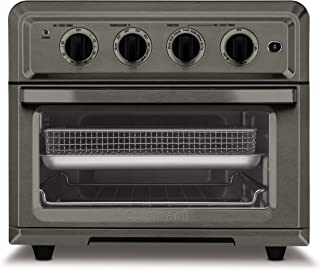 Cuisinart TOA-60BKS Toaster Oven Air Fryer.6 Cubic Interior, Black Stainless Steel