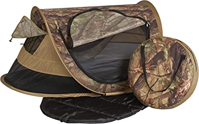 KidCo P4013 Peapod Plus Portable Indoor Outdoor Travel Bed Camo