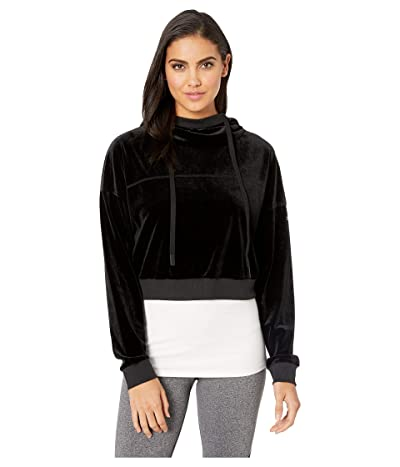 ALO Layer Long Sleeve Top (Black) Women
