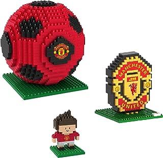 BRXLZManchester United FC 3D Construction Toy Bundle