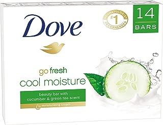 Dove go fresh Beauty Bar, Cucumber and Green Tea 4 oz, 14 Bar