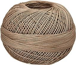 Handy Hands 210-Yard Lizbeth Cotton Thread, 25gm, Medium Linen