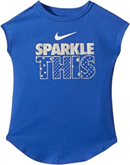 Sparkle This Modern Short Sleeve Tee (Little Kids)