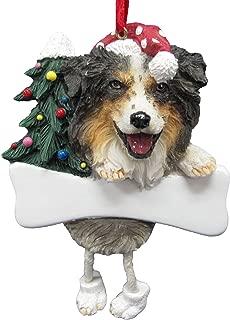 Australian Shepherd Ornament with Unique