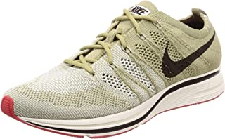 Flyknit Trainers Mens Running Trainers AH8396 Sneakers Shoes (UK 6.5 US 7.5 EU 40.5, Neutral Olive Velvet Brown 201)