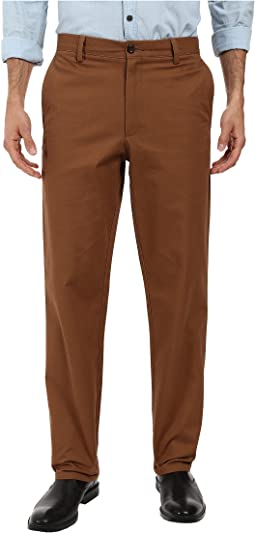 Easy Khaki Straight Flat Front Pants