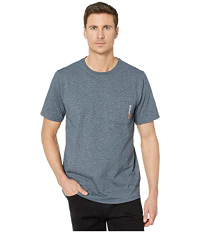 Timberland PRO Base Plate Blended Short Sleeve T-Shirt (Navy Heather) Men