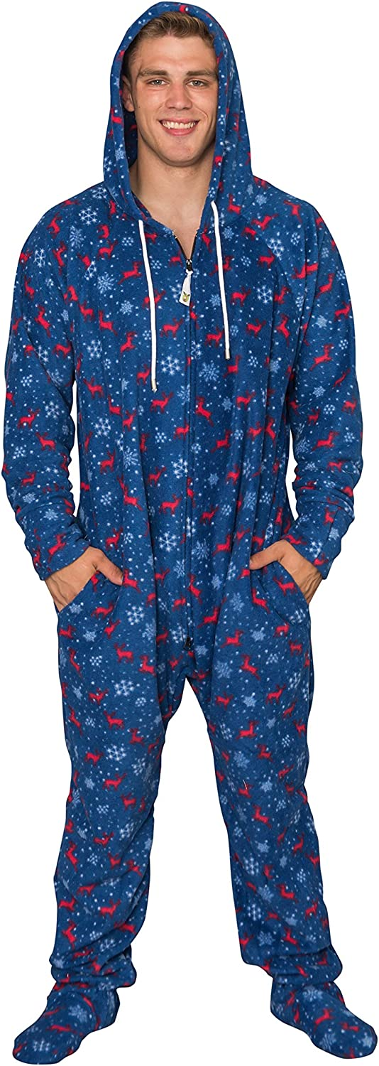 Costume Agent Ugly Christmas Max 55% OFF Cheap mail order shopping Lazy Suit Pajama with Hood