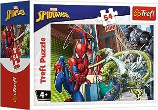 Trefl 19608 Marvel Spider Man Mini Puzzle for Boys, 54 Pieces