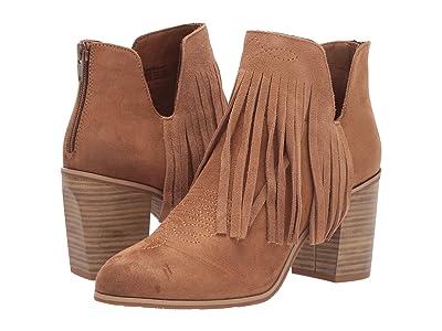 Ariat Unbridledtm Jaxson (Cognac Suede) Cowboy Boots