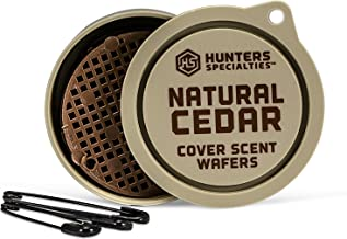 Hunters Specialties LUR3348609 Hunter's Natural Cedar Cover Scent Wafers (3 Pack), Tan