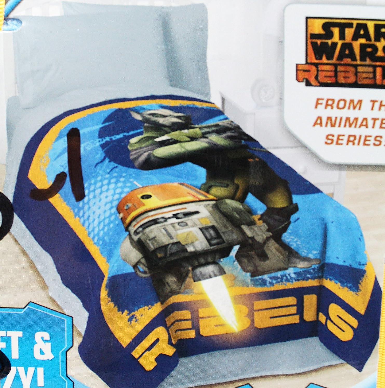 Star Wars Rebels bluee colord Super Soft Plush Blanket