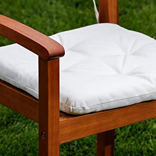 DTY Outdoor Living Chair Cushions Set of 2, Cream