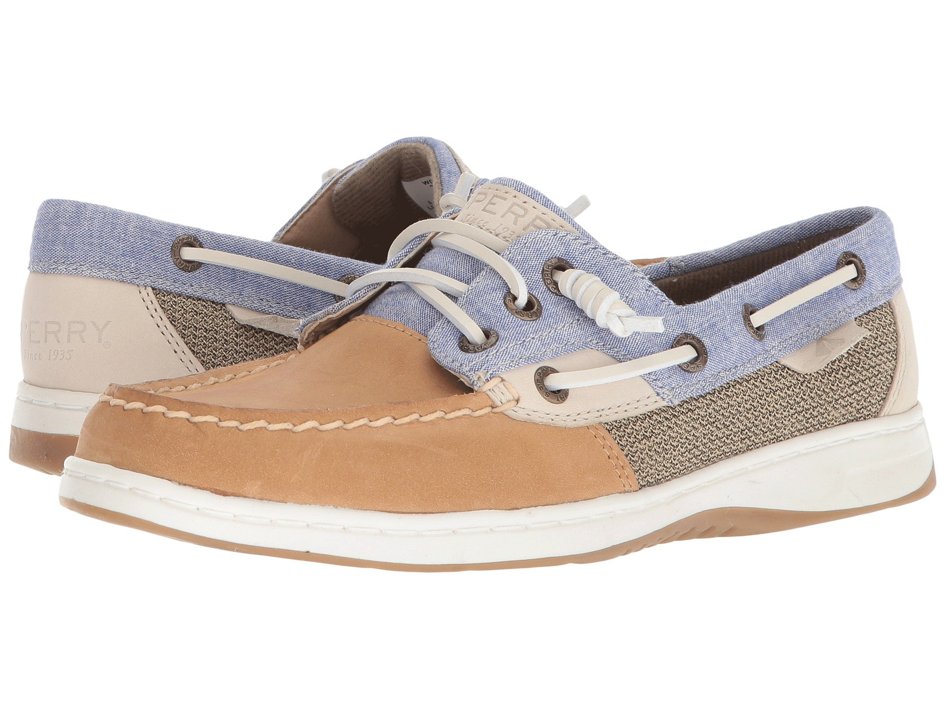 SPERRY Rosefish Chambray Linen Blue