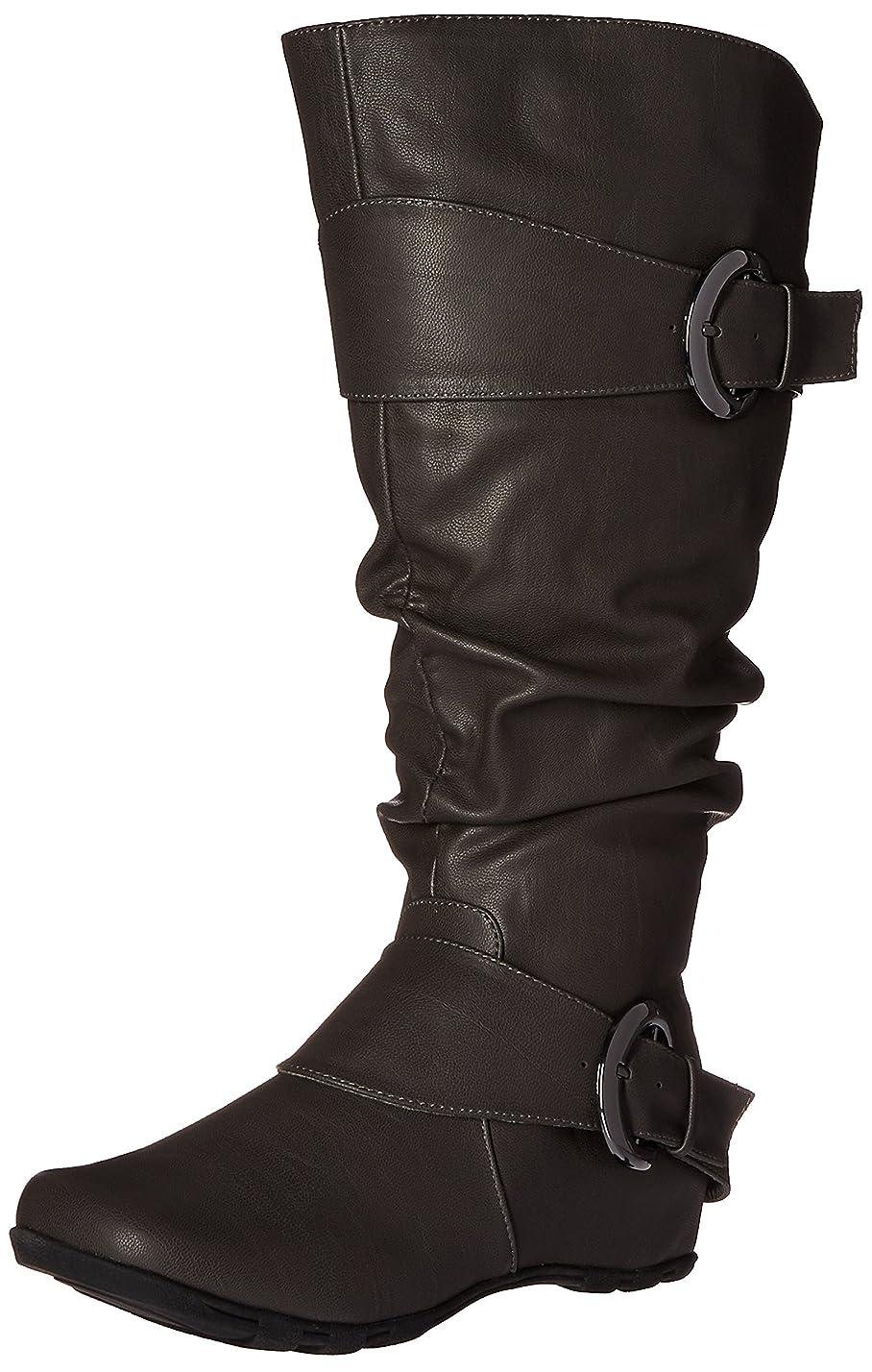 意気揚々ガイド発送[Brinley Co] Women 's hilton-xwc Slouch Boot